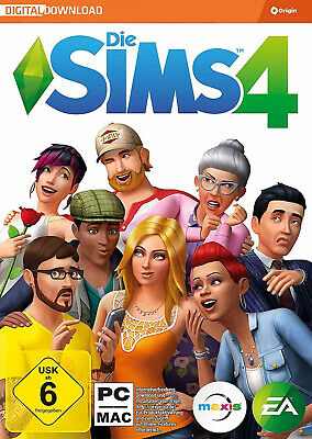 Die Sims 4 Hauptspiel Vollversion Spiel Key - PC Version Origin Download Code