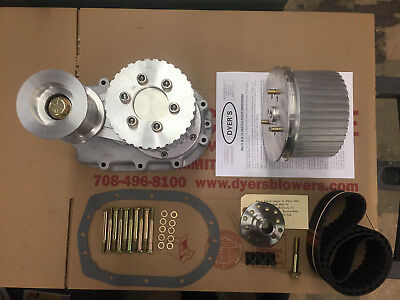 471 SBC Small Block Chevy Dyer's Nostalgia Drive Kit Unpolished New