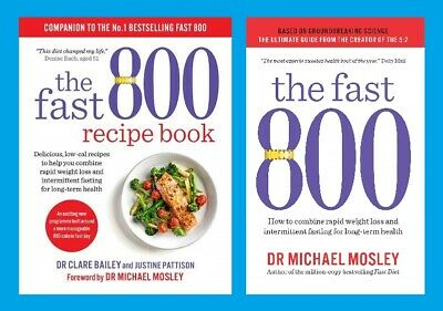 The Fast 800 Plan & Recipe Book Rapid weight loss for long term health Pre-Order