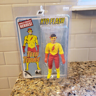 Kid Flash by FTC Teen Titans Retro Retro Style Action Figures Series 1