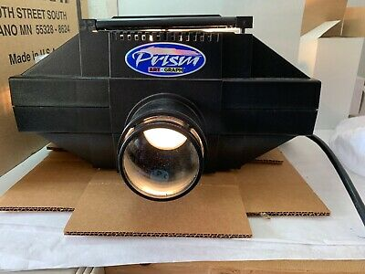 Prism Artograph Art Projector 225-190 With Box/Bulbs Enlarge/Reduce.