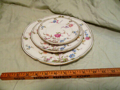 MINT 5 PIECE PLACE SETTING CASTLETON SHELL PINK DINNER SALAD BREAD PLATE CUPS SC