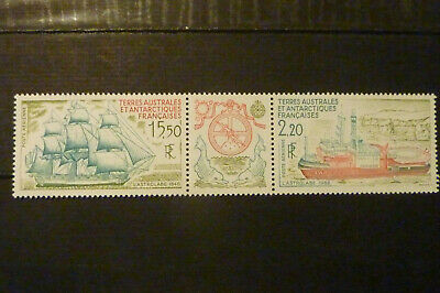 France    TAAF PA  triptyque Y et T N° 113 A  nf ** MNH