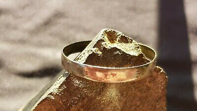 Absolutely exquisite Viking bronze/silver ring. A must read description. L139a