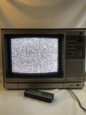 SONY kv-1546r Year: 1981 Color Tv With Remote Control In Working Condition