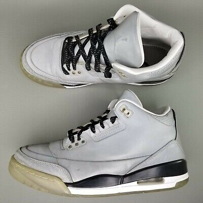 separation shoes 8e182 09ab4 Nike Nike Air Jordan III 3 5Lab3 Basketball Shoes Mens Size 8.5 3M  Reflective