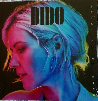"DIDO - STILL ON MY MIND  BLUE VINYL  LP WITH SIGNED 12"" x 12"" PRINT , Mint"