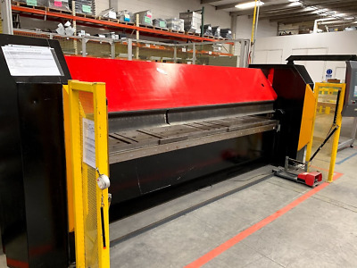 "2004 RAS CNC FOLDER 73.30 FLEXIBEND FOLDING SYSTEM MACHINE 126"" x 11 GAUGE"