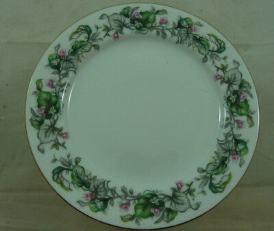 """Craftsman Fairy Blossoms Japan China 7 3/4"""" Salad Plate LOT 11 Floral Dining"""