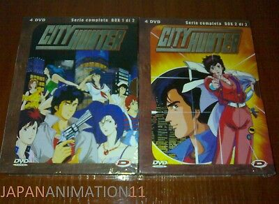 City Hunter - Prima Serie Completa - Box 1 & Box 2 - ( 8 Dvd )