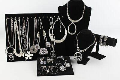 20 x Vintage & Retro MODERNIST & MINIMALIST JEWELLERY inc. Necklaces, Earrings