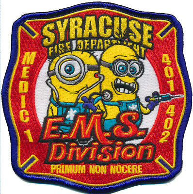 Syracuse EMSDivision Medic 1 (New York) Fire Patch