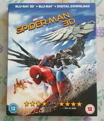 Spider-Man Homecoming - 3D & 2D Blu Ray