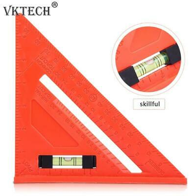 45 Degrees Angle Ruler Multi-function Triangle Ruler Square Protractor Meter