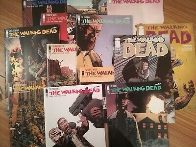 THE WALKING DEAD COMIC'S (15 issue's)