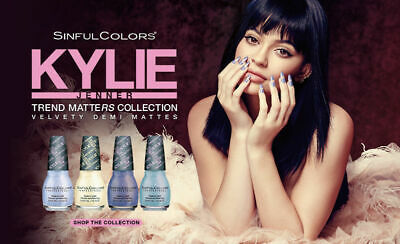 Vernis à ongles Sinful Colors - Kylie collection plusieurs couleurs disponibles