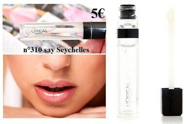 L'Oreal n°310 Say Seychelles - gloss transparent