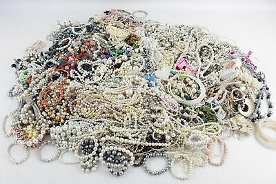 Huge Job Lot 15kg VINTAGE, RETRO & MODERN COSTUME JEWELLERY Unsorted Stock