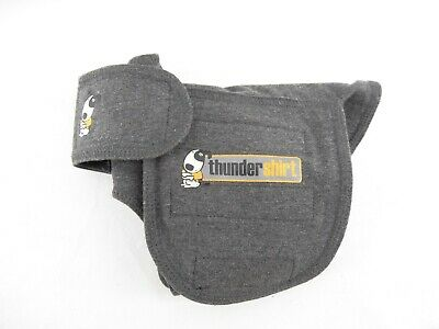 Thundershirt Calming Anti Anxiety Treatment Gray Shirt Vest for Dogs Size XS