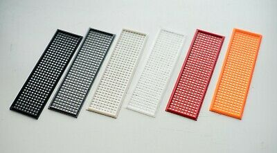 5x Universal 3D Printed Customisable IO Shield Motherboard Plate