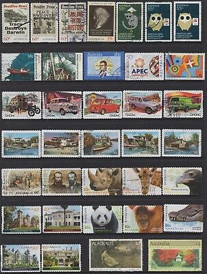 AUSTRALIA No.26 DECIMAL COLLECTION OF (36) STAMPS VFU