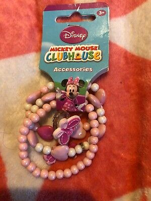 Disney Minnie  Mouse Bracelets & Ring Freepost (Access1)