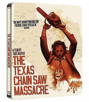 The Texas Chain Saw Massacre Limited Edition Steelbook Blu-Ray PREORDER
