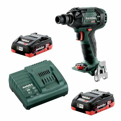 "Metabo 18V 1/2"" Impact Wrench 300Nm 4.0Ah LiHD Kit SSW AU60239540"