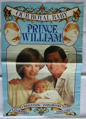 Our Royal Baby Prince William, Christening Anniversary A Glorious Souvenir, 1982