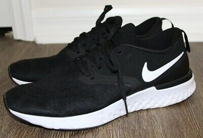 official photos 1ebd6 c342e NIKE Odyssey React Flyknit 2 Black Running Shoes Men s Size 11 US AH1015-010