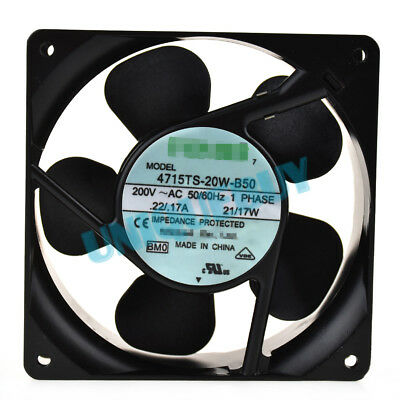 21/17W 200V for NMB 4715TS-20W-B50 Frequency Converter Cooling fan 120*120*38MM
