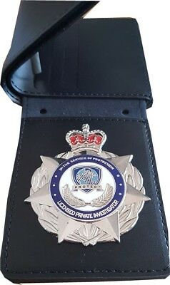 Licensed Private Investigator Badge & Wallet *50% OFF CLEARANCE SALE*