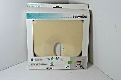 Lovenest by babymoov Flat-Head Prevention Pillow Ergonomical Head Rest Support