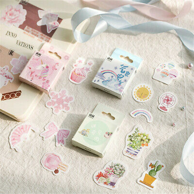 Japanese Cake Plant Stationary Stickers Scrapbooking Flakes Bullet Journal Decor