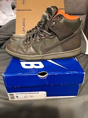 buy online a3ca1 36c8c NIKE SB DUNK HIGH PREMIUM Frank Kozik Size 9 used Box Lobster