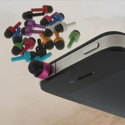 3.5mm Headphone Anti Dust Stopper Plug For iphone 4 4S 3GS EO