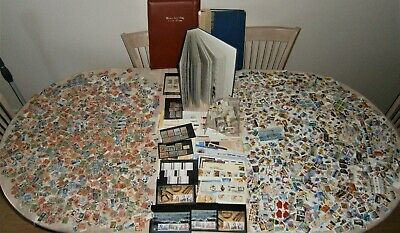 Massive 7+kg pre-decimal/decimal collection - 10,000++ MNH/MH and used