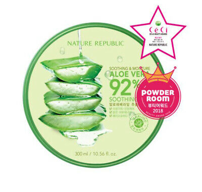 [NATURE REPUBLIC] Soothing&Moisture Aloe Vera 92% Soothing Gel - 300ml
