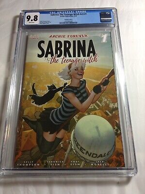 Archie Sabrina: The Teenage Witch #V3 #1  5/19 Cgc 9.8
