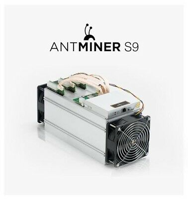 BITMAIN Antminer S9 13.5TH/s ASIC used Bitcoin Miner with included PSU