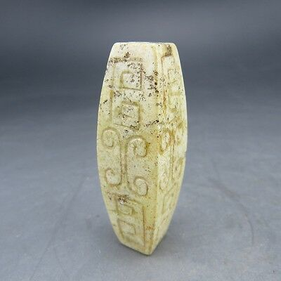 Chinese collections,noble collection,Hongshan culture, jade,day bead,pendant Q0