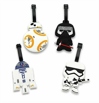 Silicone Star War Travel Luggage Tag Bag Tag Identify Label with Ajustable Strap