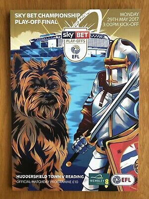 Championship Play Off Final 2017 Programme - Huddersfield Town v Reading