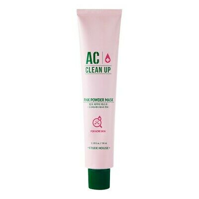 [Etude House] AC Clean Up Pink Powder Mask -100ml