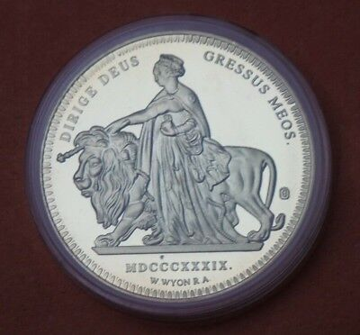 2009 Great Britain Museum Rare Coin Collection Victoria 1839 Una And The Lion