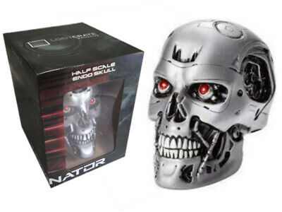Bnib Collector's Edition Figure Terminator Genisy Half Scale Endo Skull New