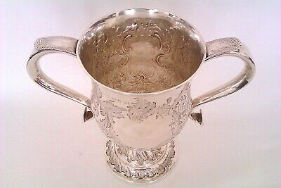 Beautiful Solid Silver George III Twin Handle Trophy William Bateman I  1814