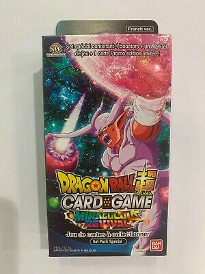 Dragon Ball Super Card Game Miraculous Revival Special Pack Set - SP05