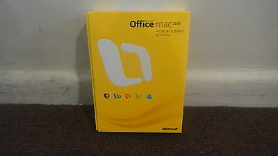 OFFICE:MAC, By Microsoft Office 2008 Home and Student Edition - 3 USER....LOOK!!