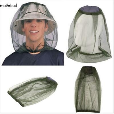 Mesh Hat Outdoor Anti Mosquito Cap Mask Head Net Protection Anti Insect M5BD